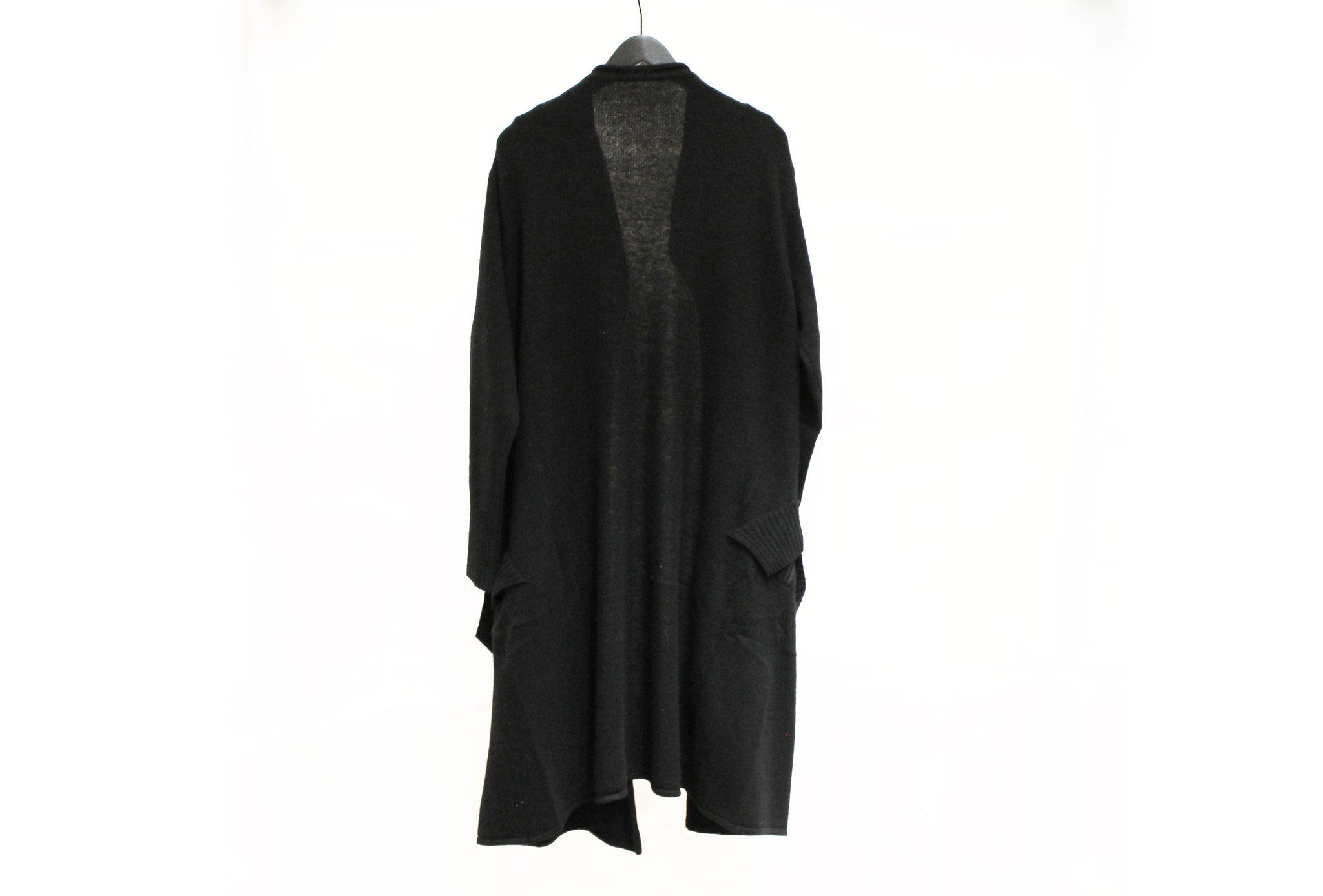 Moyuru Black Long Cardigan