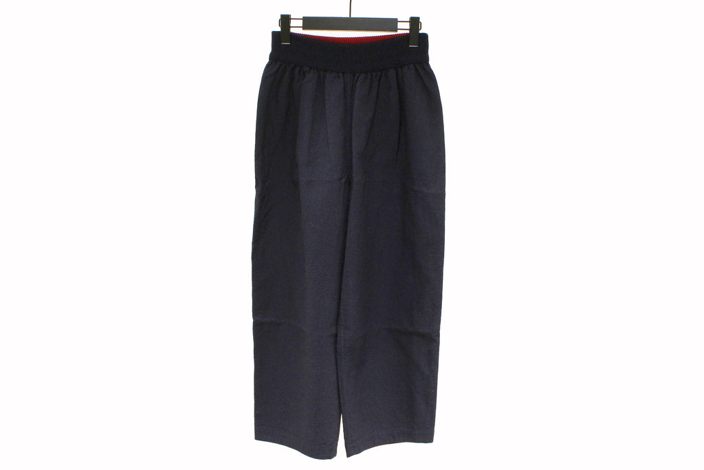 M&Kyoko Navy Wide Trousers