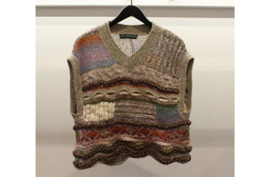 M&Kyoko Multicolour Knitted Vest