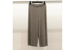 M&Kyoko Beige Pleated Trousers