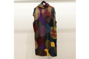 M&Kyoko Multicolour Roll Neck Tunic