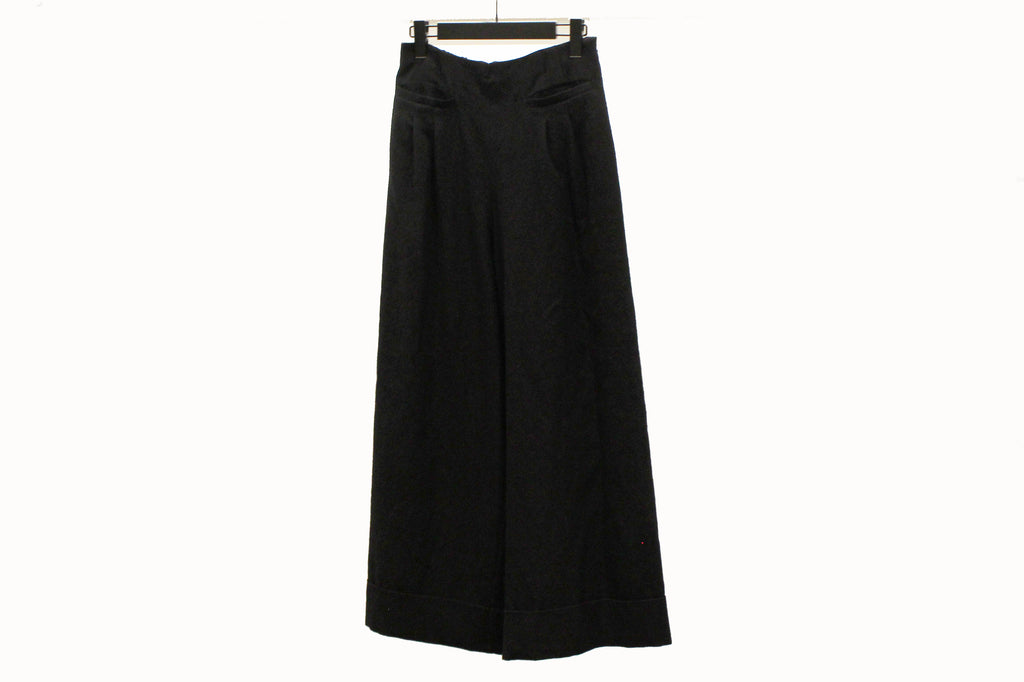 Mefu High Waist Black Trousers