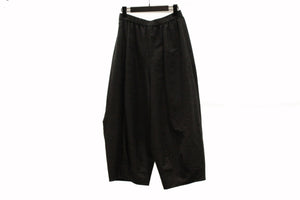 JI-U Black Cocoon Trousers