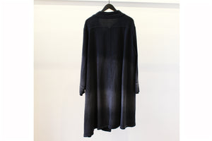 Mefu Washed Navy Coat