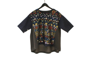 M&Kyoko Blue Floral Top
