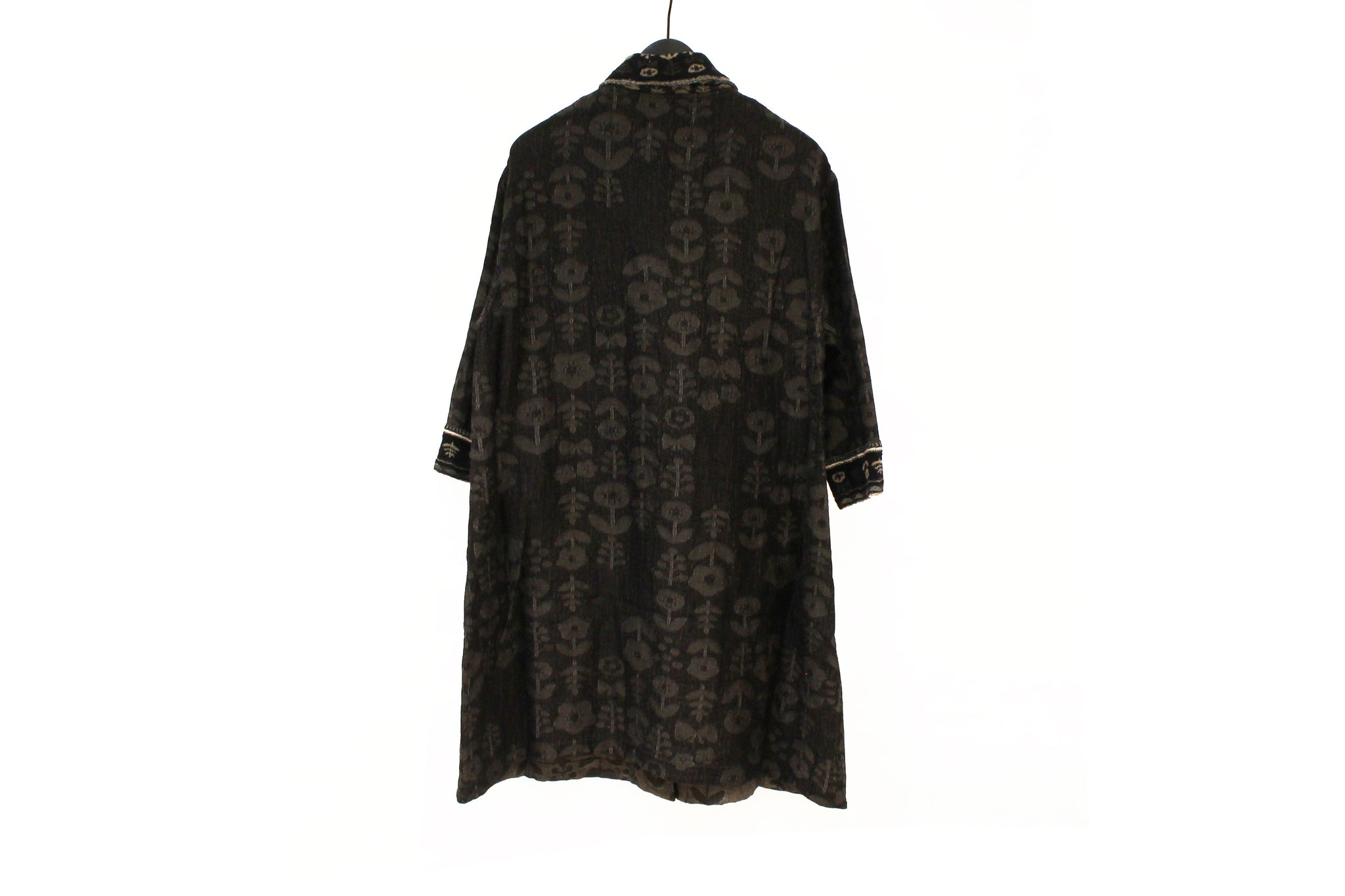 M&Kyoko Black Reversible Coat