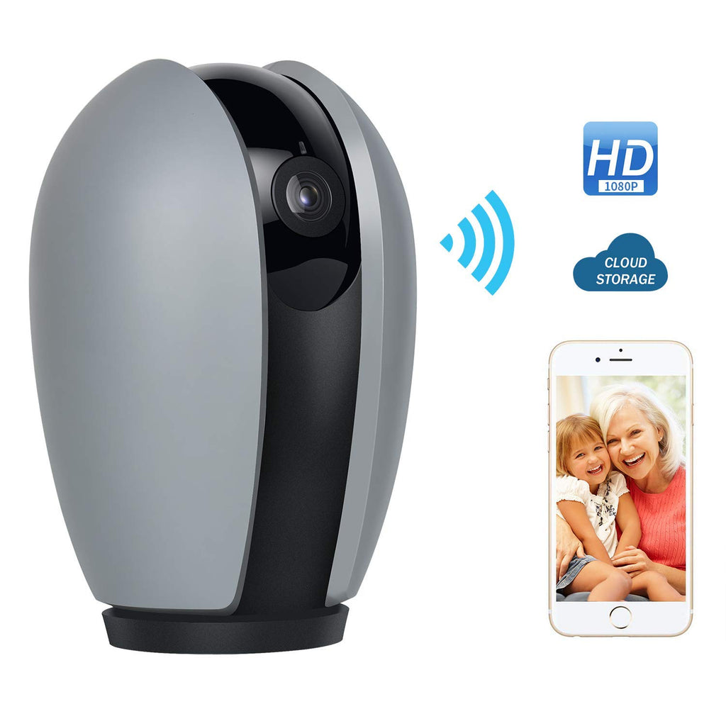 CamHome Olva S 1080p HD Home/Baby/Pet Indoor Camera