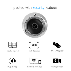 CamHome Bullet S 1080p HD Wi-Fi Outdoor Camera