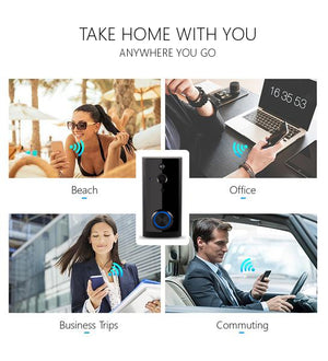 CamHome Bell-C2 Smart WiFi Doorbell [1080p] Full Pack