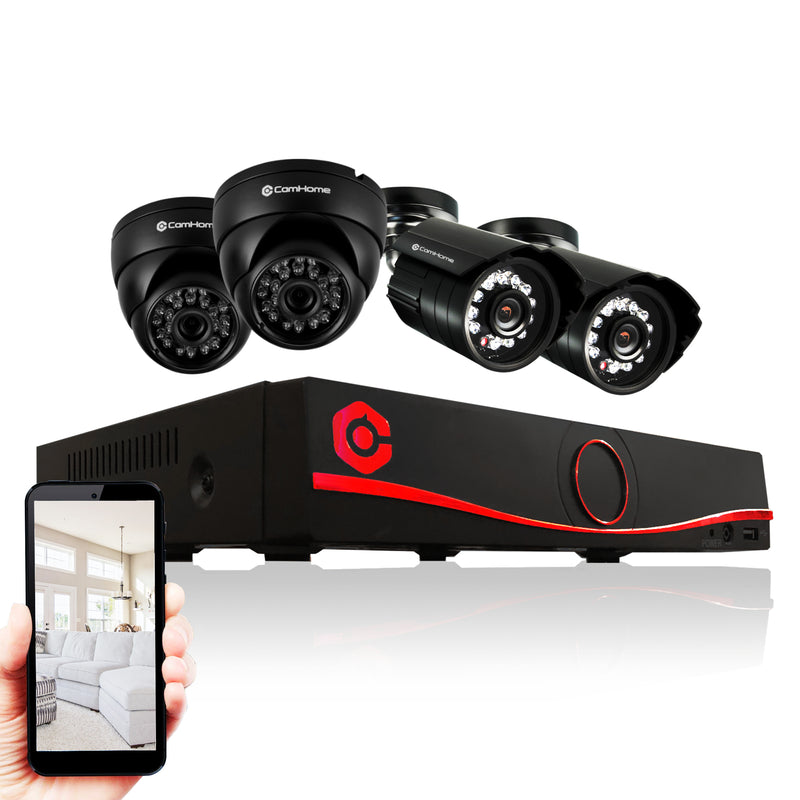 8-Channel Full HD 1080p Whole Home Security Camera Set