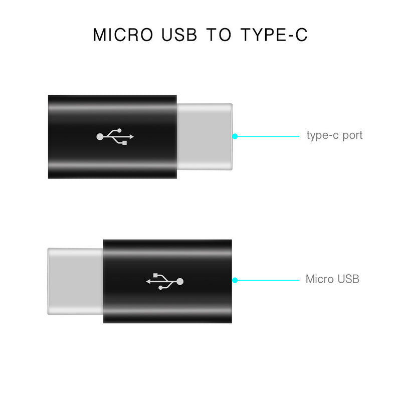 USB Type-C Adapter [Micro USB Female to USB-C Male USB 3.1] - CamHome