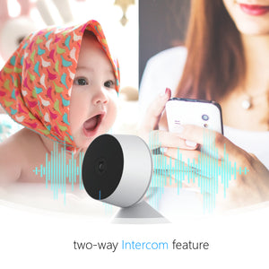 CamHome Sol 8S 1080p-HD Indoor Security Camera for Home/Baby/Pets