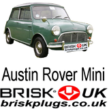 classic mini replacement bmc a series spark plugs brisk racing