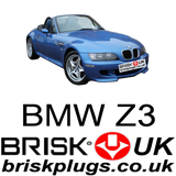 BMW Z3 Replacement spark plugs servicing spare parts breaking Denso NGK Beru Brisk UK