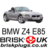 BMW Z4 E85 Spark plugs replacement performance parts tuning Z4M