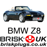 BMW Z8 M 5.0 Spark plugs performance tuning replacement