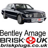 Bentley Arnage Brisk Spark Plugs UK Turbo Red Green LPG CNG GPL