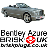 Bentley Azure Brisk Spark plugs UK for sale more power better spark LPG CNG GPL