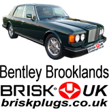 Bentley Brooklands Brisk UK spark plugs high performance turbo