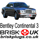 Bentley Continental 3 R Turbo Brisk Spark Plugs mulliner coupe