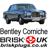 Classic Bentley Corniche replacement spark plugs NGK BRISK BOSCH CHAMPION