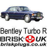 Bentley Turbo R Spark plugs Brisk UK Bosch DEnso NGK Champion