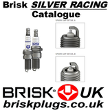 Brisk spark plugs silver racing catalogue, chart, cross reference