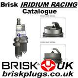 Brisk iridium Racing Spark Plugs Catalogue, variants, chart application, information