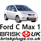 Ford C max Focus Brisk Plugs Performance LPG CNG Methane spark plugs ignition RS