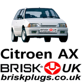 Citroen AX performance spark plugs Brisk Racing UK EU USA