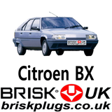 Citroen BX Brisk Spark plugs BTI volcane Replacement ignition for tuning racing more power