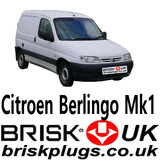 Citroen Berlingo v1 mk1 replacement spark plugs more power Brisk UK