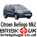 Citroen Berlingo mk2 spark plugs performance tuning more power brisk UK