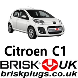 Citroen C1 Brisk Spark Plugs racing Tuning for sale UK online shop direct