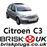 citroen c3 performance original spark plugs brisk ngk champion