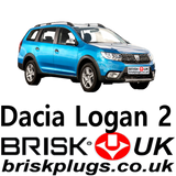 Dacia Logan 2 problems repair misfire change spark plugs Brisk UK ignition parts LPG CNG GPL