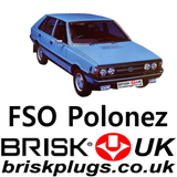FSO Polonez Brisk Spark Plugs Replacement Parts Swiece do zaplonu Tuningu Tuning LPG CNG