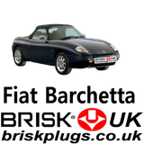 Fiat Barchetta Brisk Racing Spark Plugs