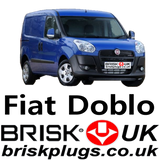 Fiat Doblo Replacement Brisk Spark Plugs UK