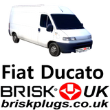 Fiat Ducato Brisk Replacement spark plugs lpg cng methane bi power