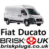 Fiat Ducato 3 Brisk Replacement spark plugs lpg cng methane bi power