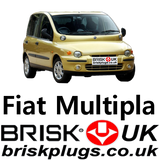 Fiat Multipla Brisk Spark Plugs Racing Tuning LPG CNG Methane