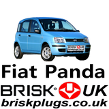 New Fiat Panda Replacement Performance Spark Plugs Brisk Racing