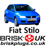 Fiat Stilo Brisk Racing Spark Plugs 1.4 1.6 1.8 2.0 HGT 20V