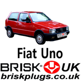 Fiat Uno Turbo Ie Brisk Performance Spark plugs for classic car racing tuning motorsport