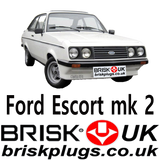 Escort mk2 RS 2000 Brisk Racing Spark Plugs Ignition parts