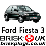 RS Turbo Fiesta Spark Plugs XR2i Cossie Cossy parts tuning Brisk Ignition UK USA EU CZ Parts