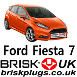 Fiesta ST Spark Plugs Eco boost turbo replacement tuning performance ignition Brisk UK