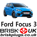 Focus ST RS Spark plugs recommended Eco boost replacement parts Brisk Plugs USA AU ASIA UK