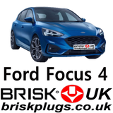 Ford Focus Replacement spark plugs for ST RS Eco Boost Brisk Plugs UK